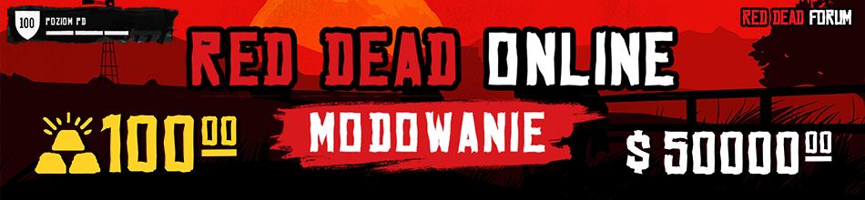 Modowanie konta Red Dead Online